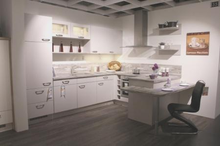 Wohnküche in U-Form
